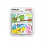 New Nintendo 3DS Cover Plate (Multicolor Yoshi) (Carcasă)