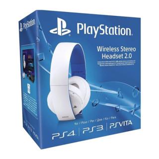 Sony Wireless Stereo Headset 2.0 (7.1 Virtual Surround, Alb) Multi-platform