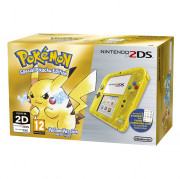 Nintendo 2DS (Transparent, galben)  + Pokémon Yellow Version Special Pikachu Edition