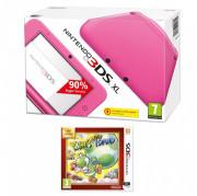 Nintendo 3DS XL Pink + Yoshi's New Island Select
