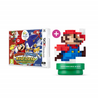 Mario & Sonic at the Rio 2016 Olympic Games + amiibo 30th Anniversary M.C.Mario 3DS