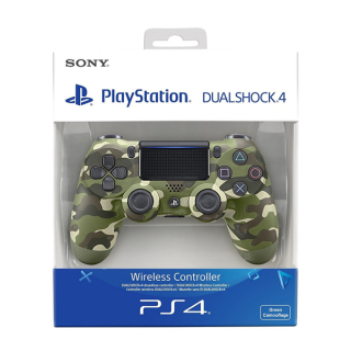 PlayStation 4 (PS4) Dualshock 4 Controller (Verde camuflaj) PS4