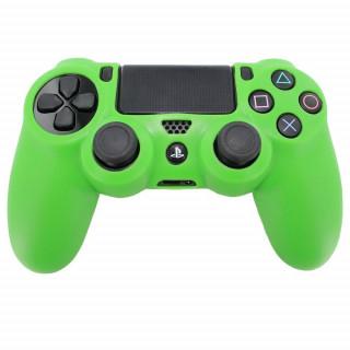 Dualshock 4 husă silicon, verde PS4