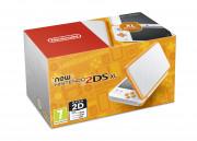 New Nintendo 2DS XL (Alb-Portocaliu)