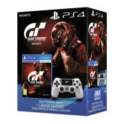 Gran Turismo Sport + Dualshock 4 Wireless Controller (GT Sport Limited Edition)