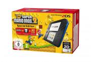 Nintendo 2DS (Negru - albastru) + New Super Mario Bros. 2