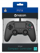 Playstation 4 (PS4) Nacon Wired Compact Controller (Negru)