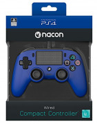 Playstation 4 (PS4) Nacon Wired Compact Controller (Albastru)