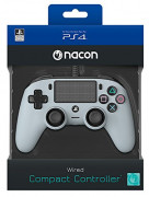Playstation 4 (PS4) Nacon Wired Compact Controller (Gri)
