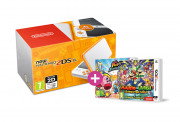 New Nintendo 2DS XL (White-Orange) + Kirby Battle Royale + M&L Superstar S