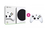 Xbox Series S 512GB + controller adițional (Alb)