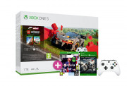 Xbox One S 1TB + Forza Horizon 4 LEGO Speed Champions + FIFA 21 + Gears of War 4 + controller adițional (alb)