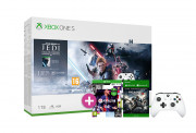 Xbox One S 1TB + Star Wars Jedi Fallen Order + FIFA 21 + Gears of War 4 + controller aditional alb