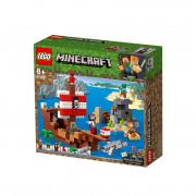 LEGO Minecraft Aventura corabiei de pirați (21152)