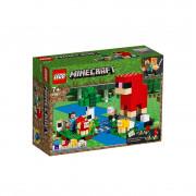 LEGO Minecraft Ferma de lână (21153)