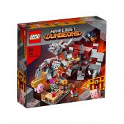 LEGO Minecraft Bătălia pentru piatra roșie (21163)
