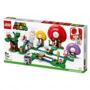 LEGO Mario et de extindere Vânatoarea de Comori a lui Toad (71368)