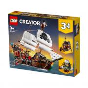 LEGO Creator Corabie de pirați (31109)