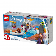 LEGO Disney Princess Expediția cu canoe a Annei (41165)