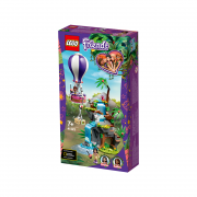 LEGO Friends Salvarea tigrului din junglă cu balonul de aer cald (41423)