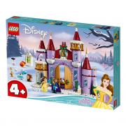 LEGO Disney Sărbătoare de iarnă la Castelul Bellei (43180)