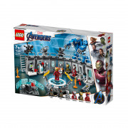 LEGO Super Heroes Iron Man - Sala Armurilor (76125)