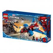 LEGO Super Heroes Spiderjet contra Robotul Venom (76150)