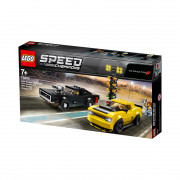 LEGO Speed Champions 2018 Dodge Challenger SRT Demon and 1970 Dodge Charger R/T (75893)