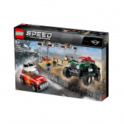 LEGO Speed Champions 1967 Mini Cooper S Rally and 2018 MINI John Cooper Works Buggy (75894)