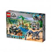 LEGO Jurassic World Înfruntarea Baryonyx: Vânătoarea de comori (75935)