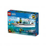 LEGO City Iaht pentru scufundări (60221)