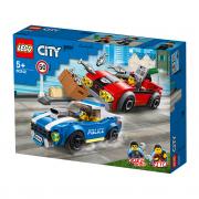 LEGO City Poliția arestează pe autostradă (60242)