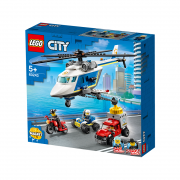 LEGO City Urmărire cu elicopterul poliției (60243)