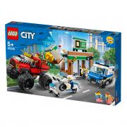 LEGO City Camionul gigant de poliție și atacul armat (60245)