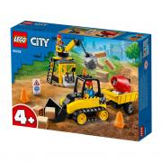 LEGO City Buldozer pentru construcții (60252)