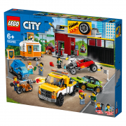 LEGO City Atelier de tuning(60258)