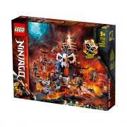 LEGO NINJAGO Temnițele Vrăjitorului craniu (71722)