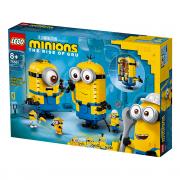 LEGO Minions Figurine Minioni din cărămizi (75551)