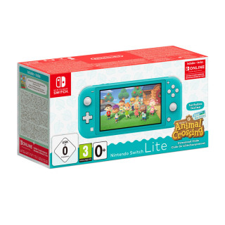 Nintendo Switch Lite (Turcoaz) & Animal Crossing: New Horizons Edition Nintendo Switch