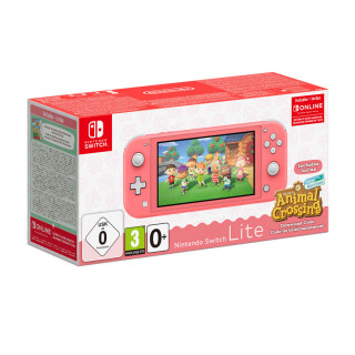 Nintendo Switch Lite Coral & Animal Crossing: New Horizons Edition Nintendo Switch