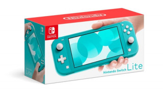 Nintendo Switch Lite (Turqoaz) (Resigilat) Nintendo Switch