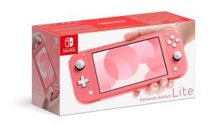 Nintendo Switch Lite (Coral) (Resigilat) Nintendo Switch