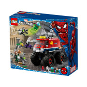 LEGO Super Heroes Camionul gigant al Omului păianjen contra Mysterio (76174)