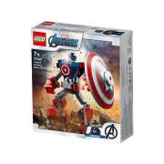 LEGO Super Heroes Armură de robot Căpitanul America (76168)