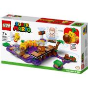 LEGO Super Mario Set de extindere Mlaștina otrăvită a lui Wiggler (71383)