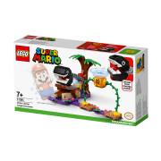 LEGO Super Mario Set de extindere Întâlnirea din junglă a lui Chain Chomp (71381)