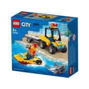LEGO City Great Vehicles ATV de salvare pe plajă (60286)