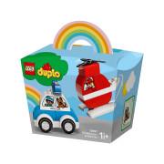 LEGO Elicopter de pompieri și mașina de poliție (10957)