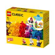 LEGO Creative Cărămizi transparente creative (11013)