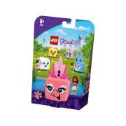LEGO Friends Cubul flamingo al Oliviei (41662)